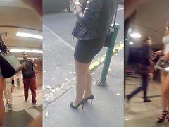 Beine und Hintern in der öffentlichen Compilation1