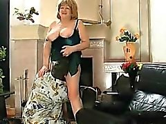 Fat Russian Grandmother Gets Her Pussy Licked