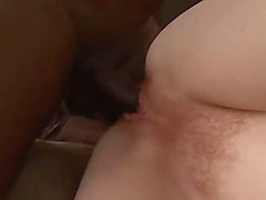 Hirsute redhead whith large nipps drilled by bbc