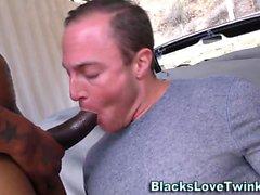 Черные любители жарить на вертеле
