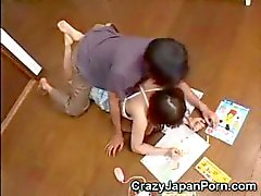 Japanse Teen misbruikt !