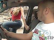 Tranny adolescente ama enormes os galos