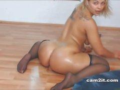 Mollig Blondine Webcam Solo
