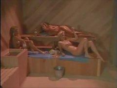 Melanie Moore, P.J. Sparxx, Tianna - lesbian threesome