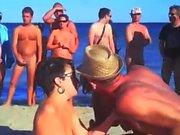 beste Strand Fickszenen von Cap d'Agde