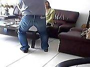 Piilotettu kamera perhehuoneessa löyhkä Fuck mielitietty