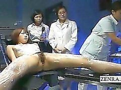 Como subtítulo CFNF de modelo lésbicas massagem japoneses pelos enfermeiros