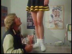 Винтажный хардкор порно с классические звезды стимулированию Мэрилина Chambers на сексе втроем