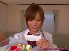 Nippon petite gf assfucked and creampied