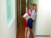 Sexy MILF teacher Tanya Tate has sex with student blonde teen