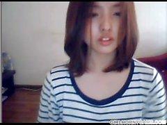 Chica Coreana en Webcam - girlhornycams