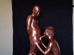 銅粉 性交 / металл бронзовой секс