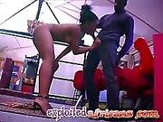 African ebony gives incredible blowjob