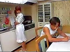 Barn för asiatisk Housewife Fucked