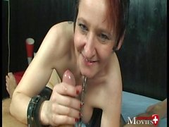 Cheval - First Bondage Fuck - she is a perfect slave