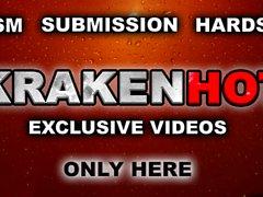 Krakenhot - Voyeur Video von einem reifen Frau nackt im Freien