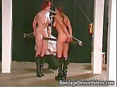 Beide uiteinden van een stok intense fetish part3