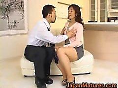 Von Hitomi Kurosaki Älterer asiatisch chick Teil5