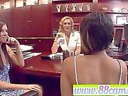 Lesbian Huge tits teen blonde blowjob anal mo