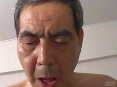 Giapponese vecchio uomo