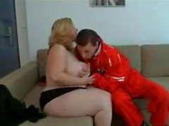 Mature BBW fucked by a guy