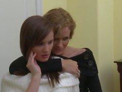 Chicas tetona Jelena Jensen y Nina Mercedez
