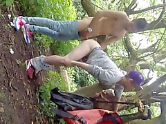 twink fucked in the park for everybody to watch