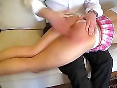 Oldfashioned spanking otk