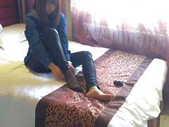 Asiatische Füße Nylon.mp4