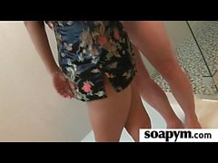 Tease Me Then Please Me After a Soapy Massage 22