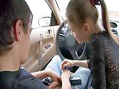 boquete adorável no meu carro
