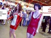 Die Latex Maid Luder programa de televisión Scheiss Transvestitenschweine wegpressen
