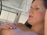 pregnant milf fucked hard by gynecologist