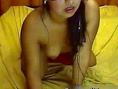 Indische Mädchen mit kleinem Brust