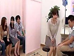 Chèque buccale du Japon en capital médecin mammaire drôle Subtitled