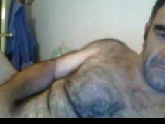 Sexiga australiska daddy bröstet