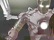 Foxy 3D brunette am Anfang harte gefickt zu durch Iron Man