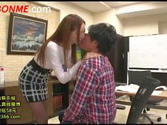 Tight Skirt Cram School Teacher Tuition Terutsuki Anri (2)