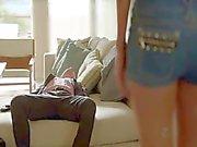 Judy Greer and Jenny Lin - Californication