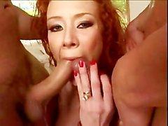 Sexy Kızıl Audrey Hollander DP'd