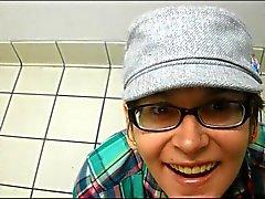 Esposa do pública de banheiro compilação de facial
