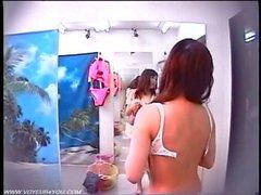Stanza adatta un negozio di vestito di bagno