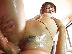 Asian shower pussy masturbaton is fun