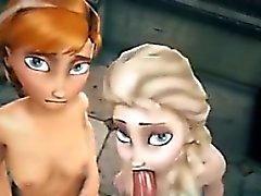 3D Anna Else Frozen Hentai