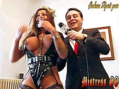 Pissing rite by Mistress Desideria Godiva introduced by Andrea Diprè