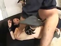 Behaarte Teen Ass Banged
