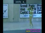 001 Ultimo Metro - chick stripping at train station pt2