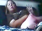 Versteckte Kamera sich unbeholfen mein sister mollige mit Orgasmus