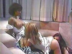 Классик старлетка Исис Nile в горячей лесбийского деле то втроем
