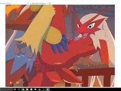 (Pokemon) Blaziken und Infernape!